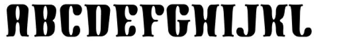 Gnomad BGauge Font UPPERCASE