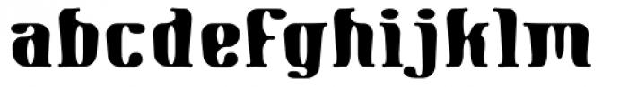 Gnomad BGauge Font LOWERCASE