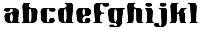 Gnomad CGauge Font LOWERCASE