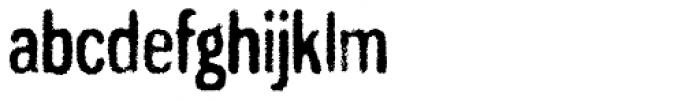 Gnuolane Grind Font LOWERCASE
