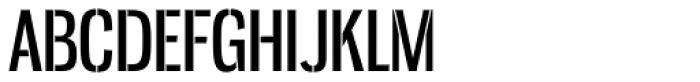 Gnuolane Stencil Regular Font UPPERCASE