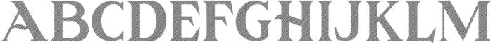 GOLDEN LINE Regular otf (400) Font UPPERCASE