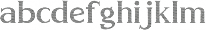 GOLDEN LINE Regular otf (400) Font LOWERCASE