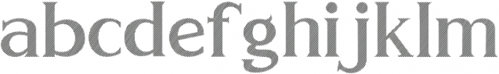 GOLDEN LINE ttf (400) Font LOWERCASE