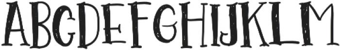 Go Doodling Font otf (400) Font UPPERCASE