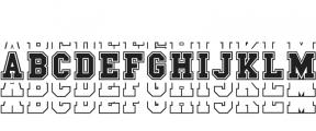 Go Sports Alternate Regular otf (400) Font LOWERCASE