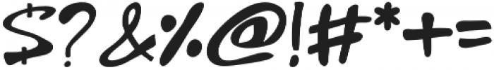 Goajubia otf (400) Font OTHER CHARS