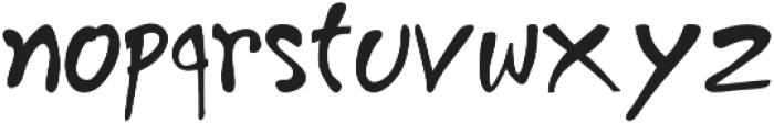 Goajubia otf (400) Font LOWERCASE