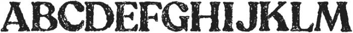 Goal Digger Filled otf (400) Font UPPERCASE