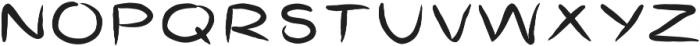 GoatsGruff ttf (400) Font UPPERCASE