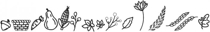 Gobbie Gobble Doodle otf (400) Font UPPERCASE