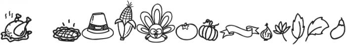 Gobbie Gobble Doodle otf (400) Font LOWERCASE