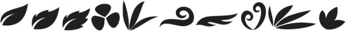Godong Leaf Leaf otf (400) Font OTHER CHARS