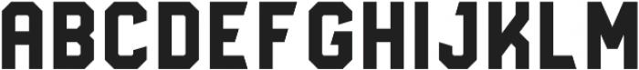 Godou Grande Sans otf (400) Font UPPERCASE
