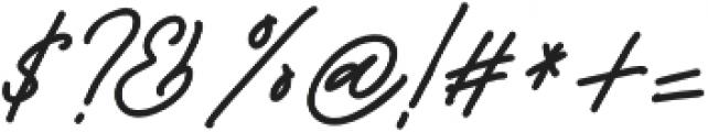 Godwit Signature Bold otf (700) Font OTHER CHARS