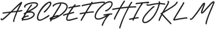 Godwit Signature Bold otf (700) Font UPPERCASE