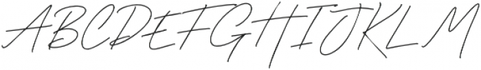 Godwit Signature Light otf (300) Font UPPERCASE