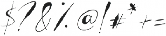GodwitScript otf (400) Font OTHER CHARS