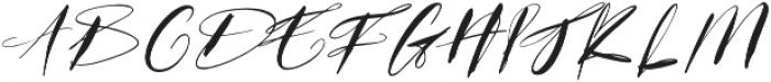GodwitScript otf (400) Font UPPERCASE
