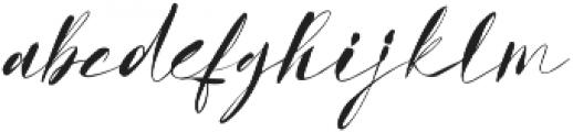 GodwitScript otf (400) Font LOWERCASE