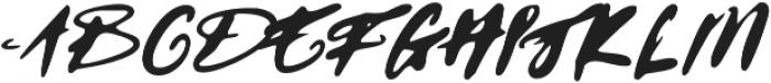 GodwitScriptWet otf (400) Font UPPERCASE