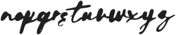 GodwitScriptWet otf (400) Font LOWERCASE