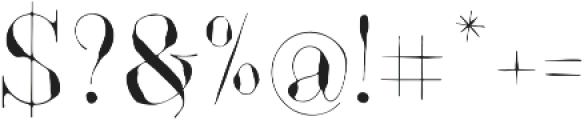 GodwitSerif otf (400) Font OTHER CHARS