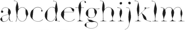 GodwitSerif otf (400) Font LOWERCASE