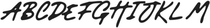 GodwitSignatureWet otf (400) Font UPPERCASE