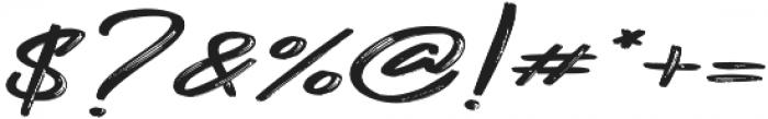Gojira Black Slant ttf (900) Font OTHER CHARS