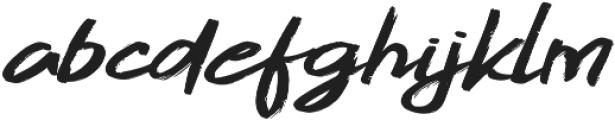Gojira Black Slant ttf (900) Font LOWERCASE