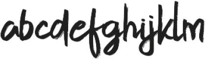 Gojira Black ttf (900) Font LOWERCASE