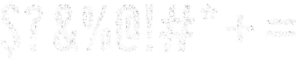 Gold Dust otf (400) Font OTHER CHARS