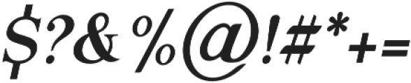 Gold Leaf News Italic otf (400) Font OTHER CHARS