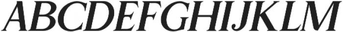 Gold Leaf News Italic otf (400) Font UPPERCASE