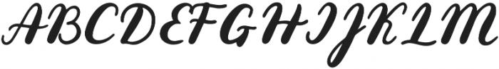 Gold Leaves otf (400) Font UPPERCASE