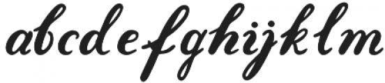 Gold Leaves otf (400) Font LOWERCASE
