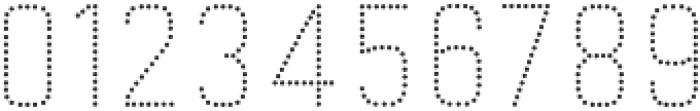 Goldana Dot Solo otf (400) Font OTHER CHARS