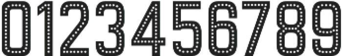 Goldana Dot otf (400) Font OTHER CHARS