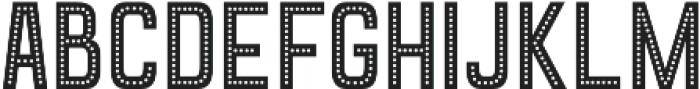 Goldana Dot otf (400) Font UPPERCASE