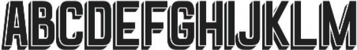 Goldana Drop Shadow otf (400) Font LOWERCASE