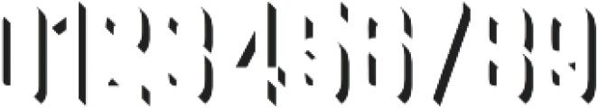 Goldana Extrude Detail otf (400) Font OTHER CHARS