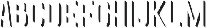 Goldana Extrude Detail otf (400) Font UPPERCASE