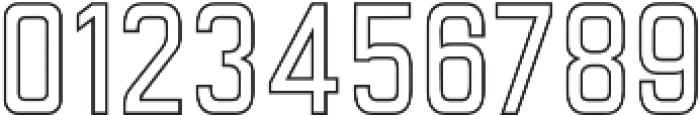 Goldana Outline otf (400) Font OTHER CHARS