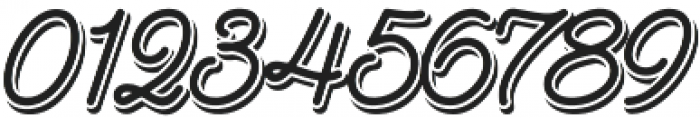 Goldana Script Shadow otf (400) Font OTHER CHARS