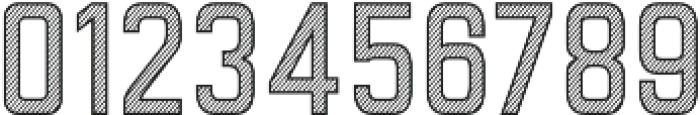 Goldana Stripes otf (400) Font OTHER CHARS
