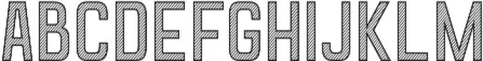 Goldana Stripes otf (400) Font UPPERCASE