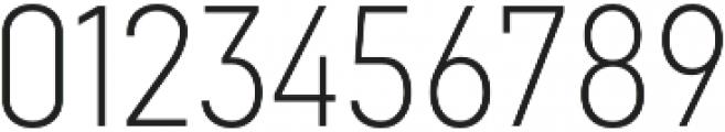 Goldbill XS ExtraLight otf (200) Font OTHER CHARS