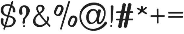Golden Bridge Sans Regular otf (400) Font OTHER CHARS