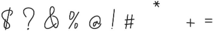 Golden Bridge Script Regular otf (400) Font OTHER CHARS